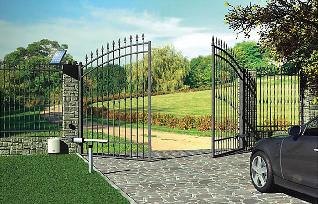 Ornamental Estate Driveway Gate and Automation