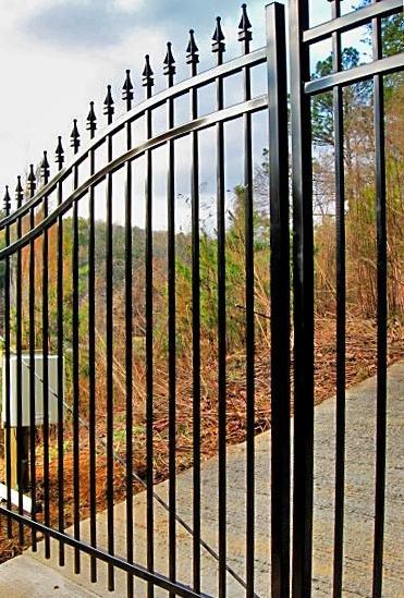 modified gate finials